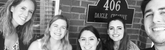 Saying Goodbye to My Internship with Daigle Creative